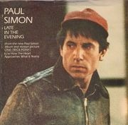 7inch Vinyl Single - Paul Simon - Late In The Evening