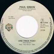7inch Vinyl Single - Paul Simon - One-Trick Pony