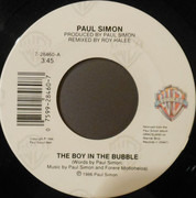 7inch Vinyl Single - Paul Simon - The Boy In The Bubble