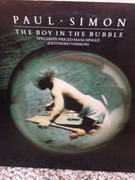 12inch Vinyl Single - Paul Simon - The Boy In The Bubble - Still Sealed
