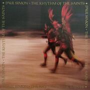 LP - Paul Simon - The Rhythm Of The Saints - insert with lyrics