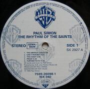LP - Paul Simon - The Rhythm Of The Saints