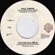 7inch Vinyl Single - Paul Simon - You Can Call Me Al