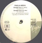 12'' - Paula Abdul - Straight Up