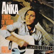 7'' - Paul Anka - Times Of Your Life