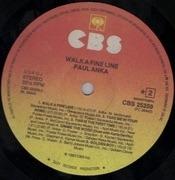 LP - Paul Anka - Walk A Fine Line