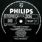 LP - Paul Mauriat - Tout Pour La Musique