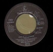 7'' - Paul McCartney - Hope Of Deliverance