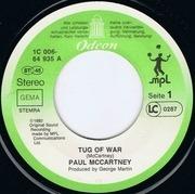7'' - Paul McCartney - Tug Of War