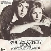 7'' - Paul McCartney & Wings - Junior's Farm