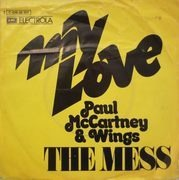 7inch Vinyl Single - Paul McCartney & Wings - My Love