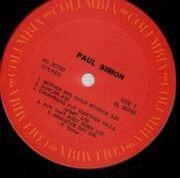 LP - Paul Simon - Paul Simon