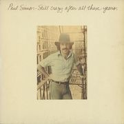 LP - Paul Simon - Still Crazy After All These Years - embossed Cover