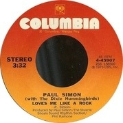7'' - Paul Simon With The Dixie Hummingbirds - Loves Me Like A Rock