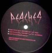 12'' - Peaches - Shake Yer Dix (Tiga Remixes)