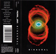 MC - Pearl Jam - Binaural - Still Sealed.