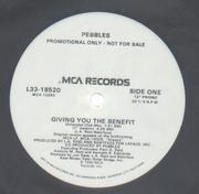 12'' - Pebbles - Giving You The Benefit