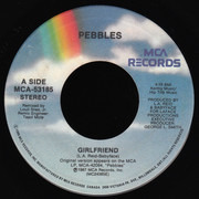 7inch Vinyl Single - Pebbles - Girlfriend