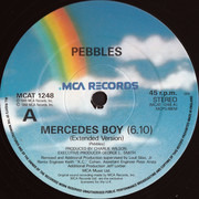 12inch Vinyl Single - Pebbles - Mercedes Boy