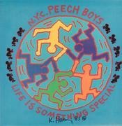 LP - Peech Boys - Life Is Something Special - Signed by Keith Haring