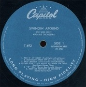 LP - Pee Wee Hunt - Swingin' Around