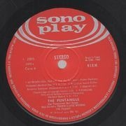 LP - Pentangle - The Pentangle - Original 1st Spanish