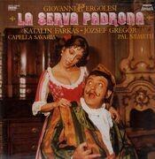 LP - Pergolesi - La Serva Padrona - gatefold, 28p booklet