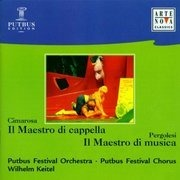 CD - Cimarosa / Pergolesi - Il Maestro di cappella / Il Maestro di musica