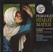 LP - Pergolesi - Stabat Mater (Margaret Marshall, Alfreda Hodgson, Günther Kehr)