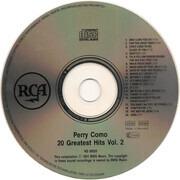 CD - Perry Como - 20 Greatest Hits Volume II