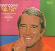 LP - Perry Como - And I Love You So