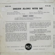 7inch Vinyl Single - Perry Como - Dream Along With Me