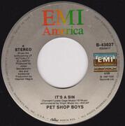 7inch Vinyl Single - Pet Shop Boys - It's A Sin