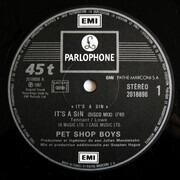 12inch Vinyl Single - Pet Shop Boys - It's A Sin