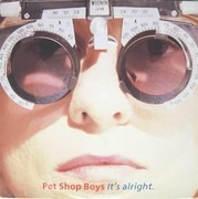 12inch Vinyl Single - Pet Shop Boys - It's Alright