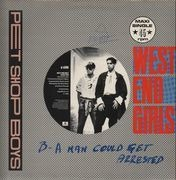 12inch Vinyl Single - Pet Shop Boys - West End Girls