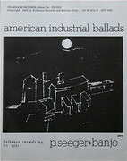 LP - Pete Seeger - American Industrial Ballads