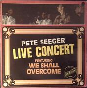 LP - Pete Seeger - Live Concert