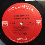 LP - Pete Seeger - Pete Seeger's Greatest Hits