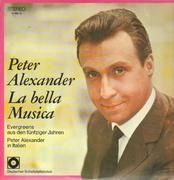 Double LP - Peter Alexander - La Bella Musica
