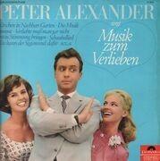 LP - Peter Alexander - Singt Musik Zum Verlieben