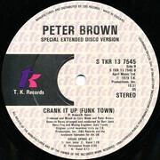 12inch Vinyl Single - Peter Brown - Crank It Up (Funk Town)