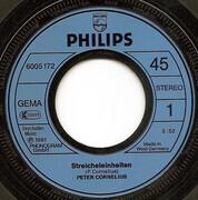7inch Vinyl Single - Peter Cornelius - Streicheleinheiten
