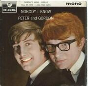 7inch Vinyl Single - Peter & Gordon - Nobody I Know