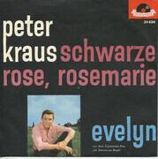 7inch Vinyl Single - Peter Kraus - Schwarze Rose, Rosemarie / Evelyn
