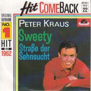 7inch Vinyl Single - Peter Kraus - Sweety