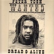 LP - Peter Tosh - Wanted Dread & Alive