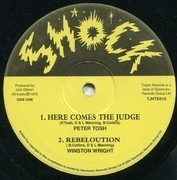 10'' - Peter Tosh / Winston Wright / The Destroyers - Here Comes The Judge