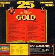 LP - Peter Alexander, Roy Black, Freddy Quinn - K-Tel's Deutsches Gold - 25 Original Hits - FOC w. booklet
