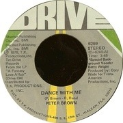 7'' - Peter Brown - Dance With Me